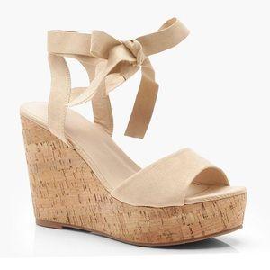 da282f7489 Boohoo Shoes | Closed Toe Wedge | Poshmark
